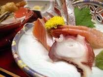 【当館オススメ】お料理グレードアップ★新鮮お刺身盛り合わせ付き