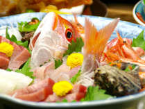 【お料理グレードアップ/お刺身盛り合わせプラン】お魚派の方はこちらのプラン♪