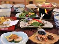 信州みゆきポークを中心にした郷土料理(季節により内容が変わります)