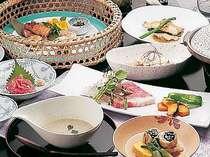 米沢牛ステーキプランの料理例