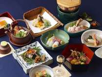 秋の懐石料理一例
