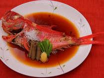 ■料理■伊豆の代表的地魚「金目鯛♪」!【別注 姿1匹4,000円(税別)】 (イメージ)
