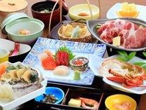 ■料理■伊勢海老&アワビの源泉蒸しプラン(イメージ)