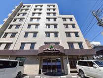 *外観/JR五井駅徒歩5分、駐車場無料のビジネスホテルです。