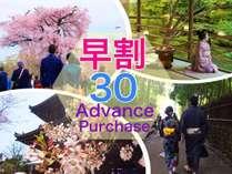 【早期予約】 30 days Advance -Room Only-