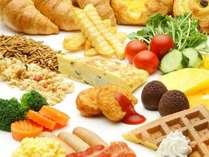 【朝食バイキング】焼きたてのワッフルがおすすめ♪ホテルの朝食をお楽しみください。