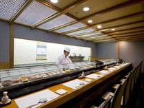 日本料理「藤さわ」寿司カウンター 職人が握る寿司食べ放題は魅力!