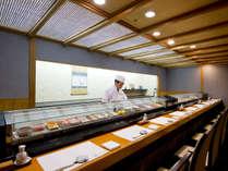 日本料理「藤さわ」寿司カウンター