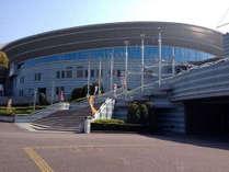 三重県営サンアリーナでは、コンサートや体育会系の公式戦があります