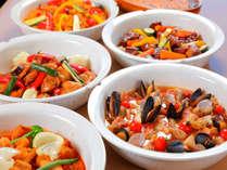 ■料理一例■地元食材の素材をそのまま活かした『おいしい』が詰まったお料理を