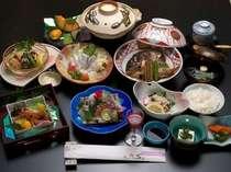 旬の食材をふんだんに使ったお料理(例)
