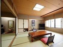 広々とした和洋室の一例。