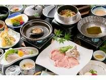 【9月★平日限定★】「豚しゃぶ」or「鯛しゃぶ」選べるお鍋の会席料理