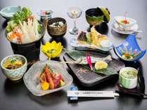 季節の和食会席でおもてなし(一例)