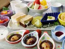 【デザートワゴンサービス】お好きなデザートをお好きなだけ♪おかわり自由!