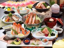【冬の味覚「カニ」1品チョイス:「カニ鍋」チョイスの場合(一例)】