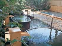 露天風呂「ゆのね」左の湯※朝夕入替え制