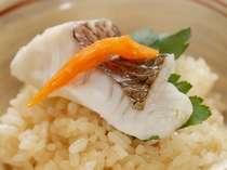 郷土料理「鯛めし」当館のお料理でも人気の高い、料理長自慢の逸品です♪(イメージ)