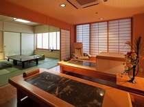 【開花亭】岩盤浴ベッド付客室  マッサージチェア付