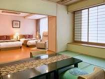 2011年9月リニューアルオープンの高層階、開花亭特別和洋室