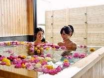 貸切バラ風呂(有料・8日前までの要事前予約・時間は到着時以降受付)※画像はイメージです