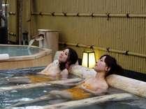 露天風呂「ゆのね」右の湯 寝湯.