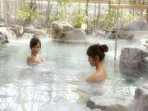 露天風呂「ゆのね」右の湯 岩風呂