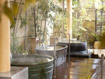 露天風呂「ゆのね」左の湯.