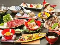 2017年10月~2018年3月  日本料理の伝統を継承する旬会席11品(季節や仕入により内容が変わります)