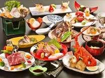 2017年10月~2018年3月 日本料理の伝統を継承する上質素材の特別会席11品(イメージ)