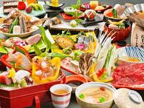 2018年10月~2019年3月  日本料理の伝統を継承する旬会席11品(季節や仕入により内容が変わります)