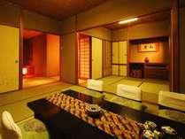 高層階の特別フロア♪10畳+6畳の広々和室でご家族同室♪贅沢旅★