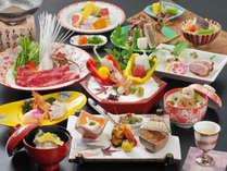 2019年10月~2020年3月 日本料理の伝統を継承する旬会席11品(季節や仕入により内容が変わります)