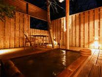 1階:客室露天風呂