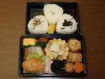 大台ケ原の朝食のお弁当がついたプランです。