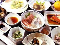 *伊豆の魚介が楽しめる♪海の幸満喫プランのお料理一例
