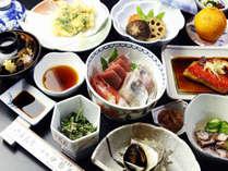 伊豆の魚介が楽しめる♪海の幸満喫プランのお料理一例
