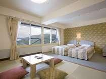 【和洋室】カップルやファミリーには広々使える6畳+2ベッドの和洋室がおすすめ(イメージ)