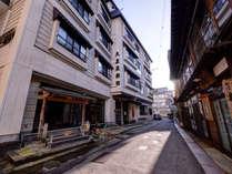 *【外観】江戸時代創業の大友屋旅館。歴史ある当館でゆっくりとお寛ぎ下さい。