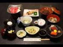 スタンダードな和食の御膳コース
