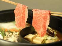 ☆慶次膳プラン☆米沢牛のしゃぶしゃぶ/すき焼きのいいとこ取り♪うめや至極の米沢牛かぶき鍋!