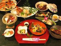 三河の山海の素材を使った自慢の会席料理です(イメージ)