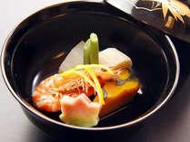 【お料理一例】新鮮な素材を彩り豊かに盛り付けてご提供いたします。