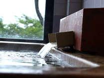 「恵方の湯」落ち着く檜の香りでごゆっくり…。