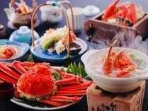 冬の能登は味覚の宝庫。特に県内産の加能(かのう)蟹は絶品です。