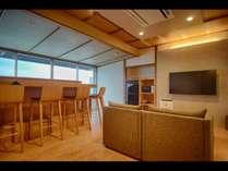 【禁煙/白鵬】カウンターキッチン付コンドミニアム風海側客室