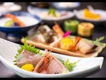 【会席料理イメージ】その日のおすすめの食材をバランスよく、お客様へご提供いたします。
