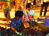 大人も子供も楽しめる夜市を開催(期間:7/22~8/31 ※7/30はお休み)