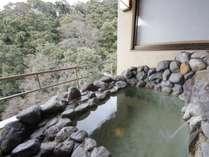 【露天風呂付き貴賓室:桜川】展望露天風呂 ※温泉使用
