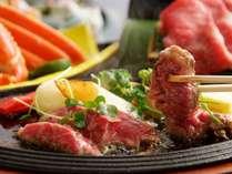 【鳥取和牛ステーキ付会席】鳥取県の誇る黒毛和牛を使用した贅沢な会席。